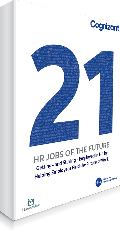 21 HR Jobs of the Future book cover